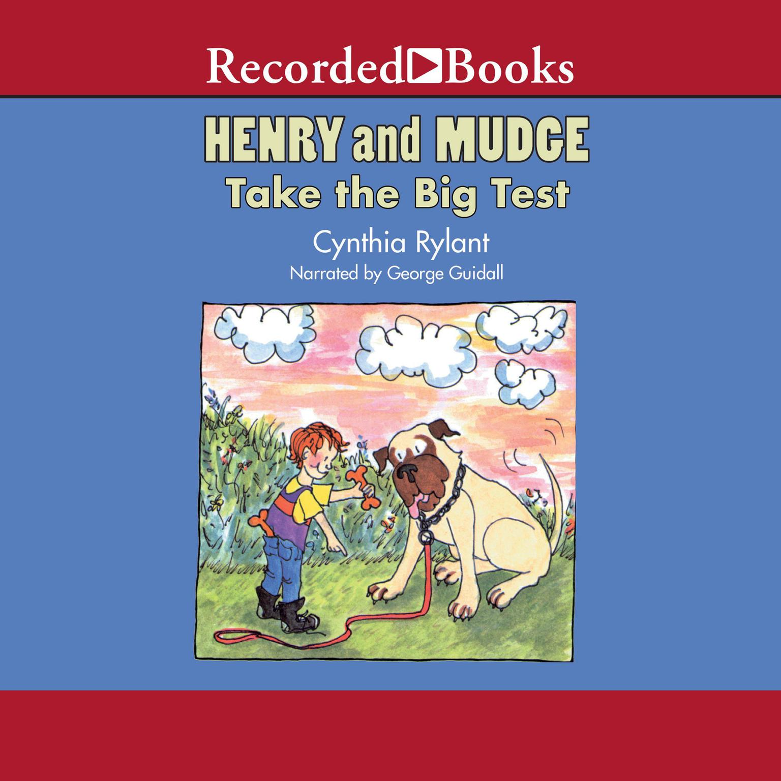 Printable Henry and Mudge Take the Big Test Audiobook Cover Art