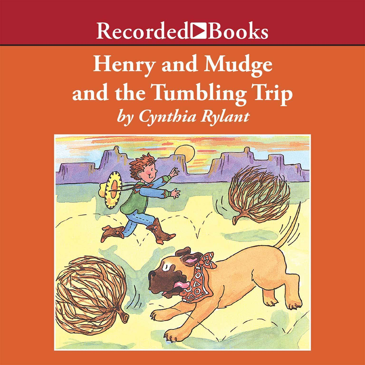 Printable Henry and Mudge and the Tumbling Trip Audiobook Cover Art