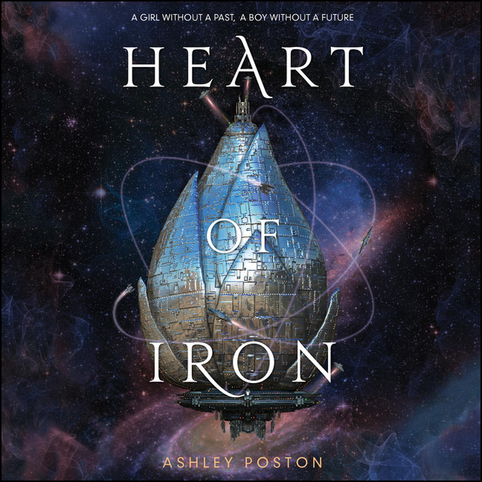 Printable Heart of Iron Audiobook Cover Art