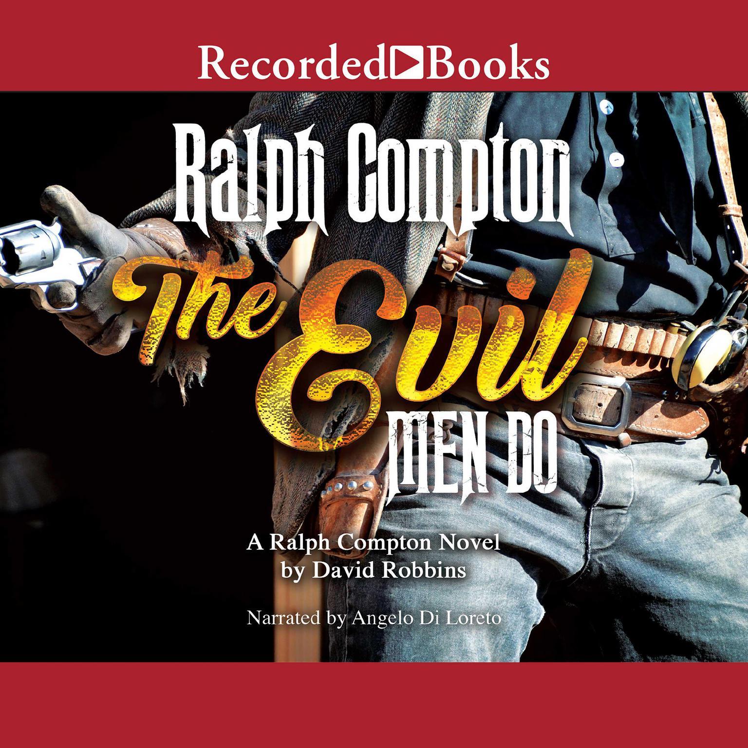 Printable The Evil Men Do Audiobook Cover Art
