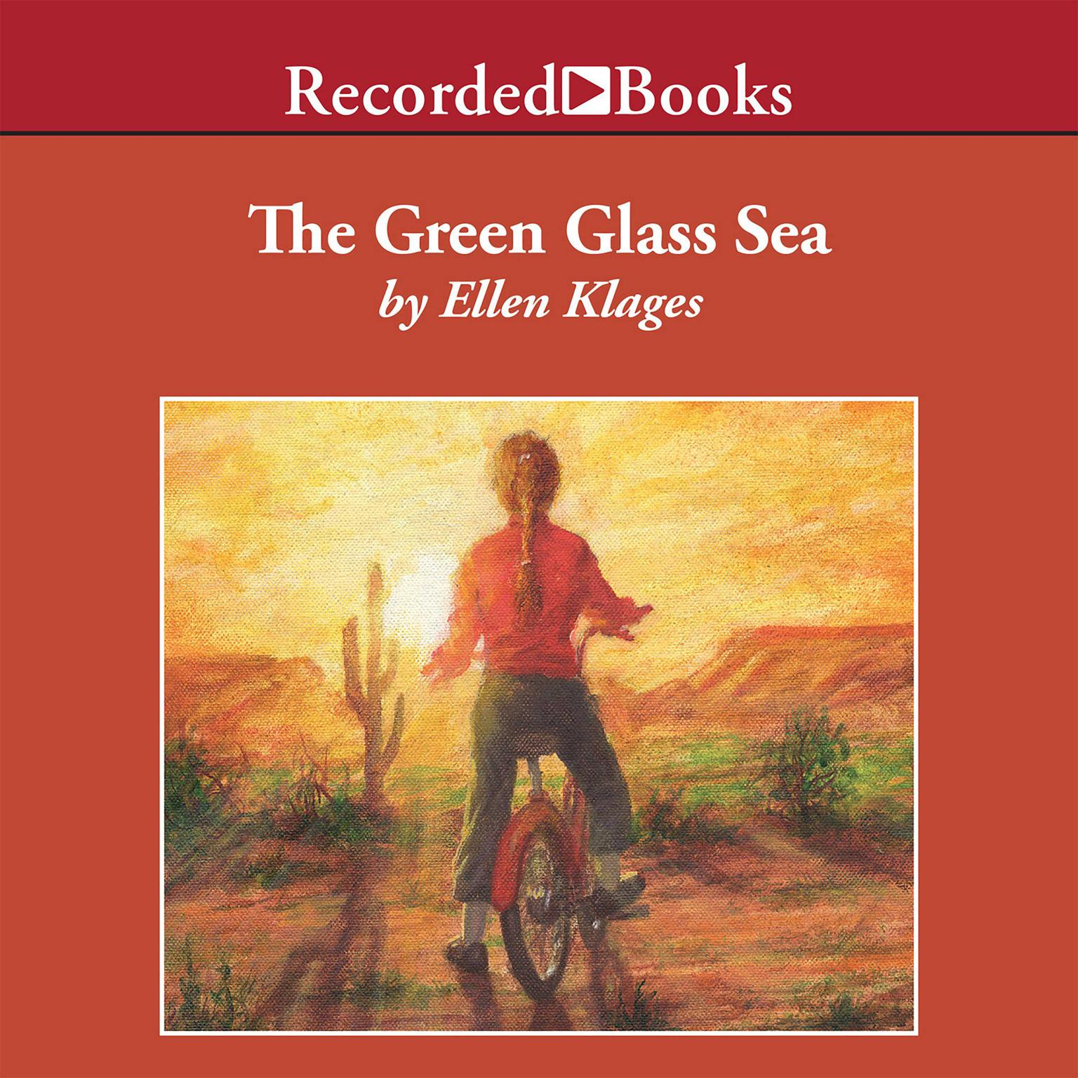 Printable The Green Glass Sea Audiobook Cover Art