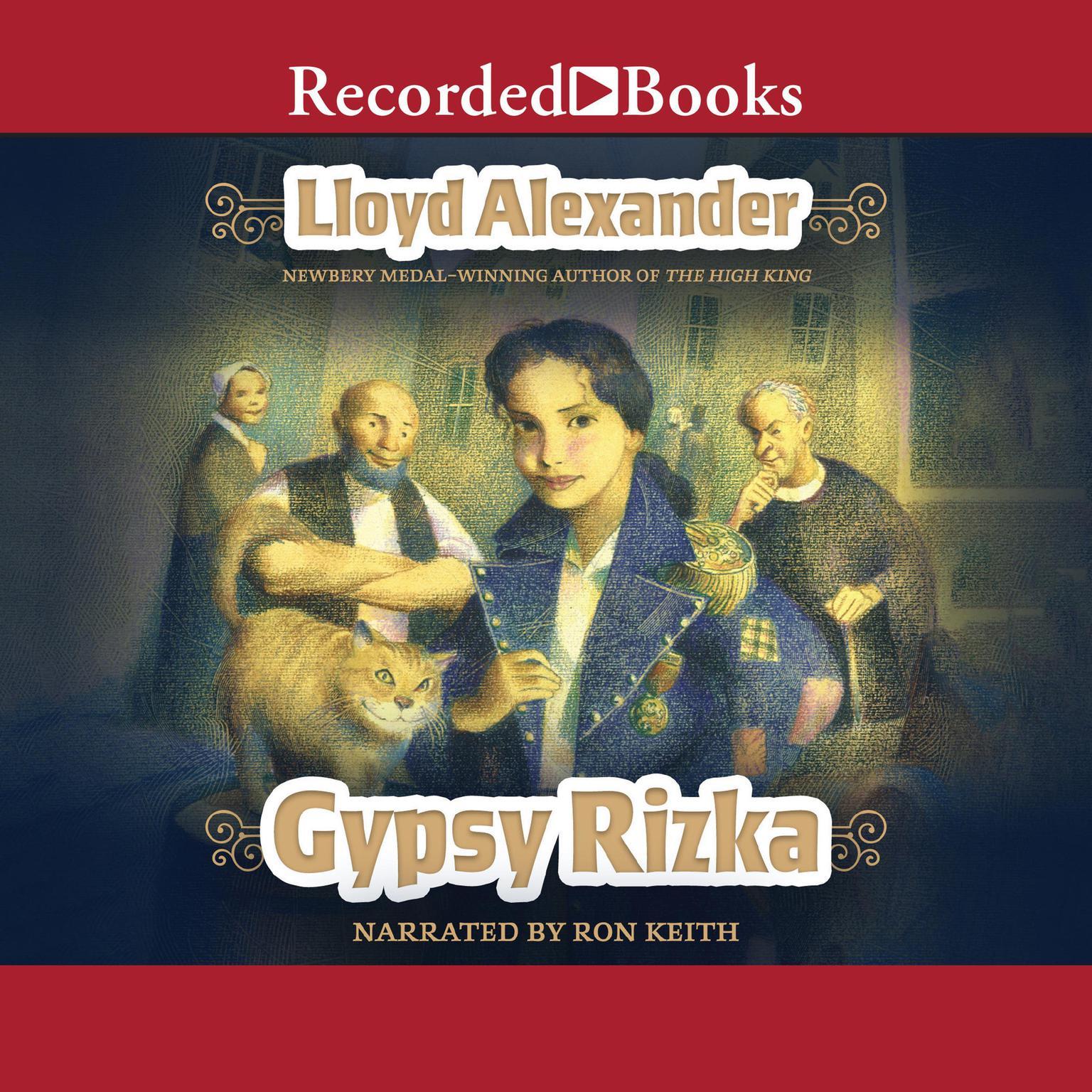 Gypsy Rizka Audiobook, by Lloyd Alexander