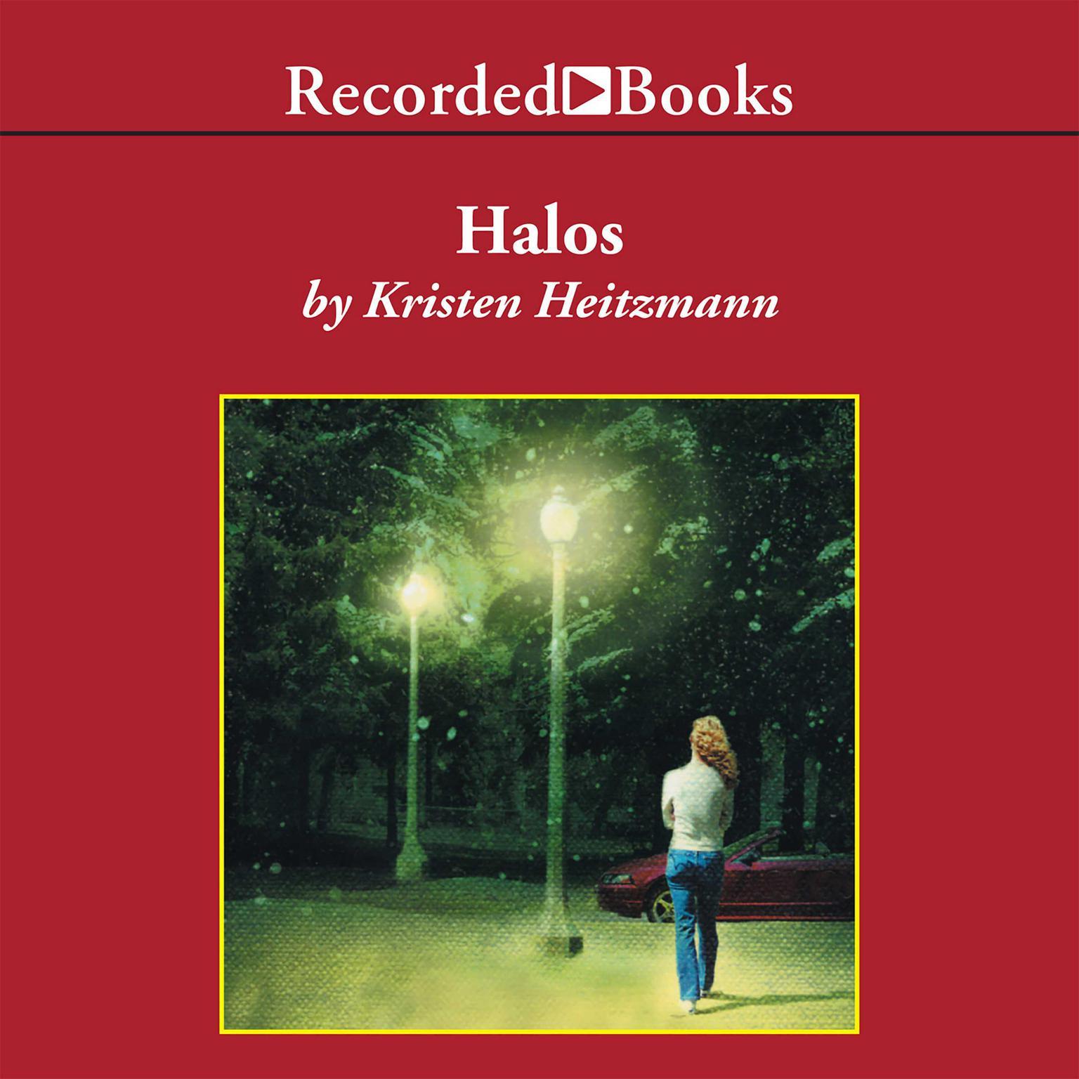 Printable Halos: A Novel Audiobook Cover Art