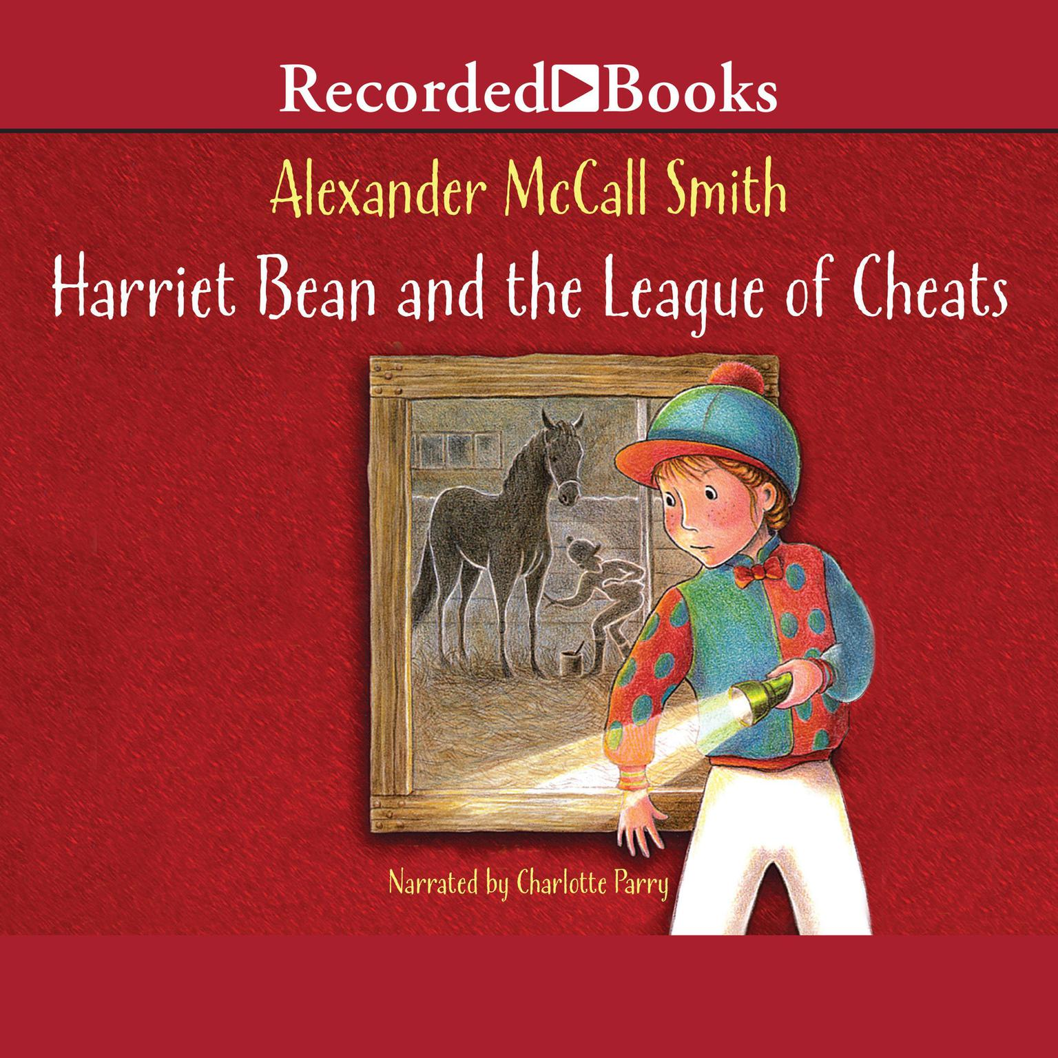 Printable Harriet Bean and the League of Cheats Audiobook Cover Art
