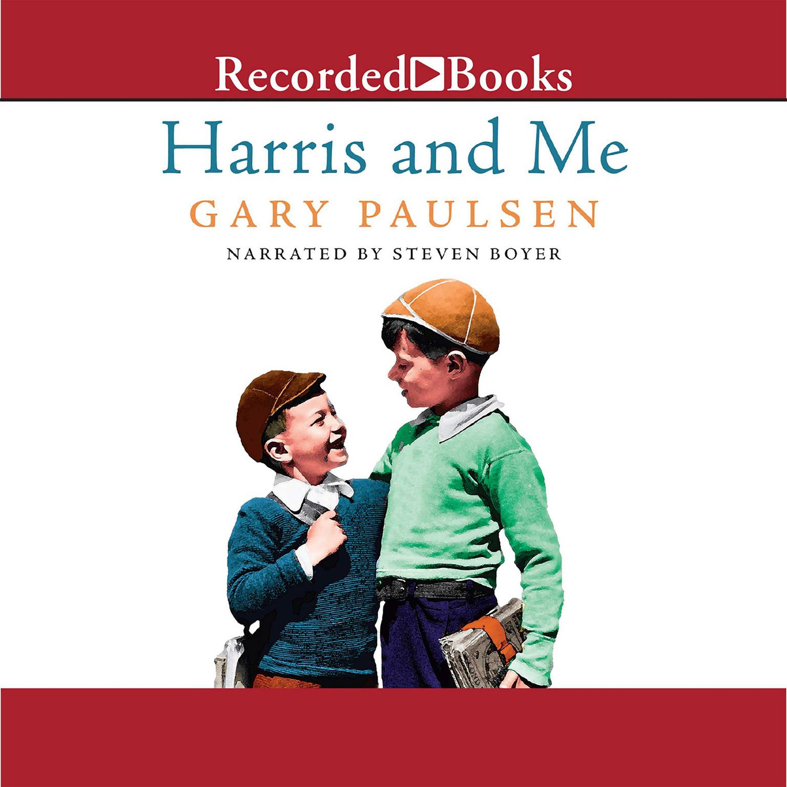 Printable Harris and Me: A Summer Remembered Audiobook Cover Art