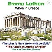 When in Greece: The Emma Lathen Booktrack Edition: Booktrack Edition Audiobook, by Emma Lathen