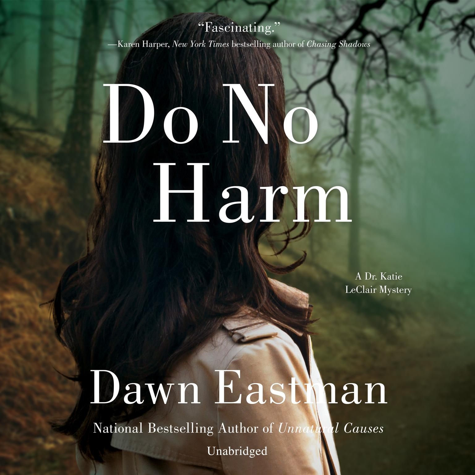 Printable Do No Harm: A Dr. Katie LeClair Mystery Audiobook Cover Art