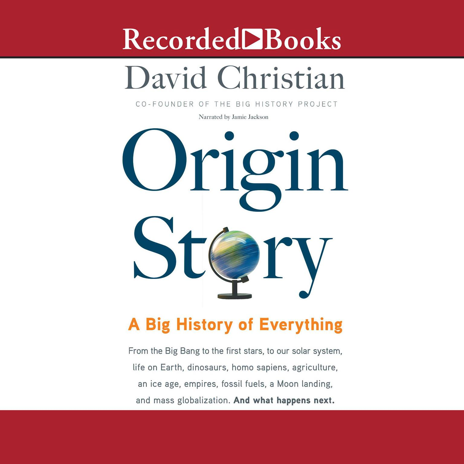 Printable Origin Story: A Big History of Everything Audiobook Cover Art