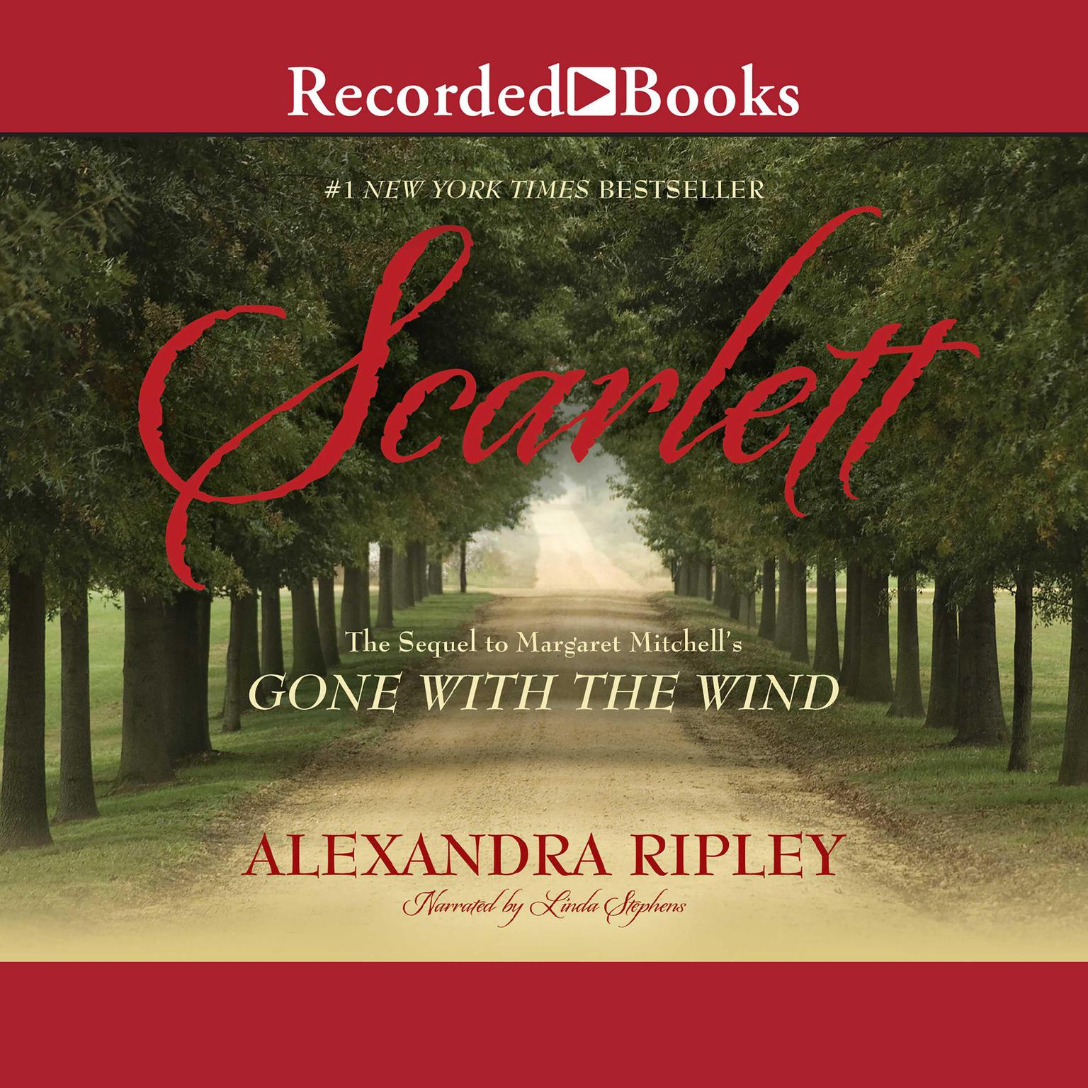 Printable Scarlett: The Sequel to Margaret Mitchell's 'Gone With the Wind' Audiobook Cover Art