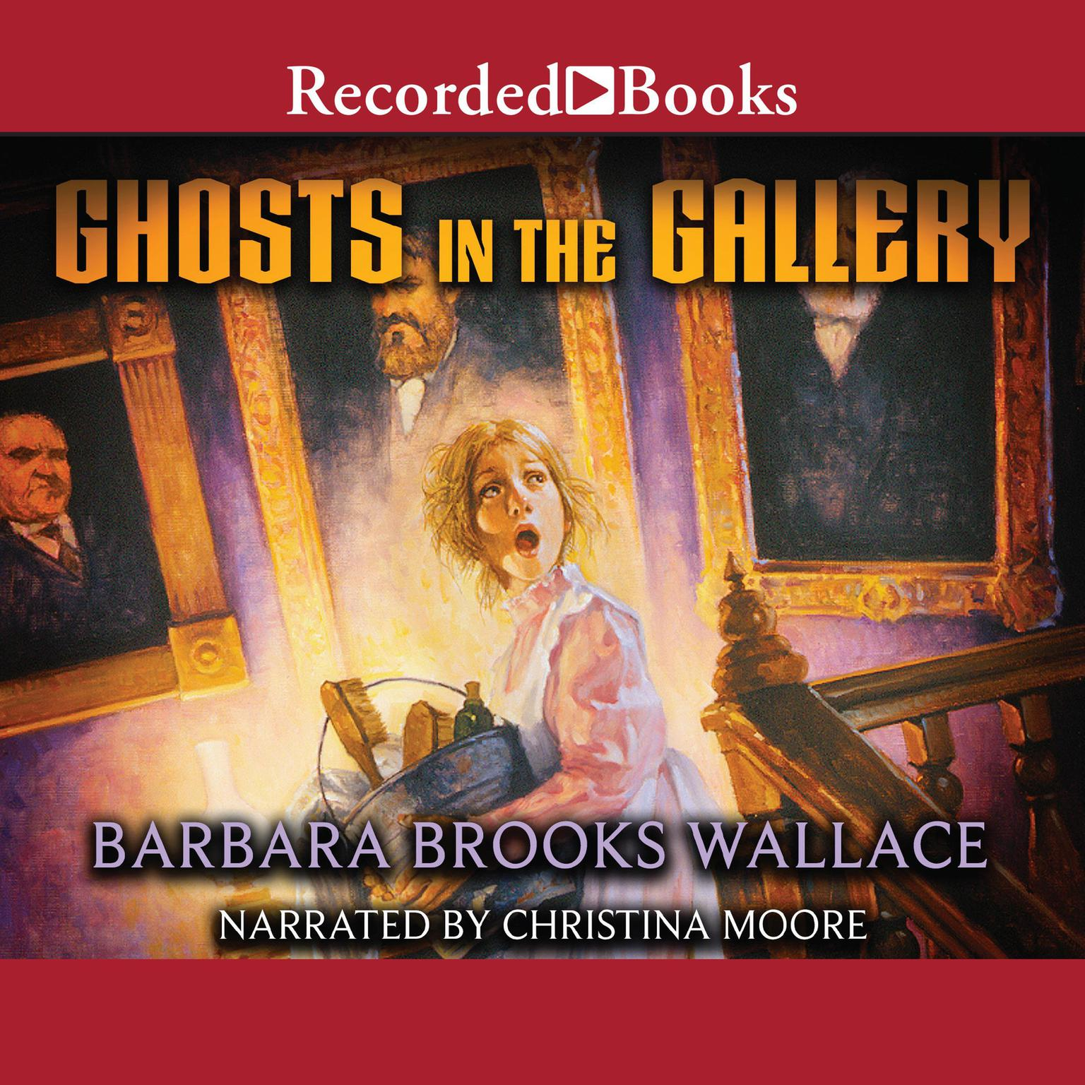 Printable Ghosts in the Gallery Audiobook Cover Art