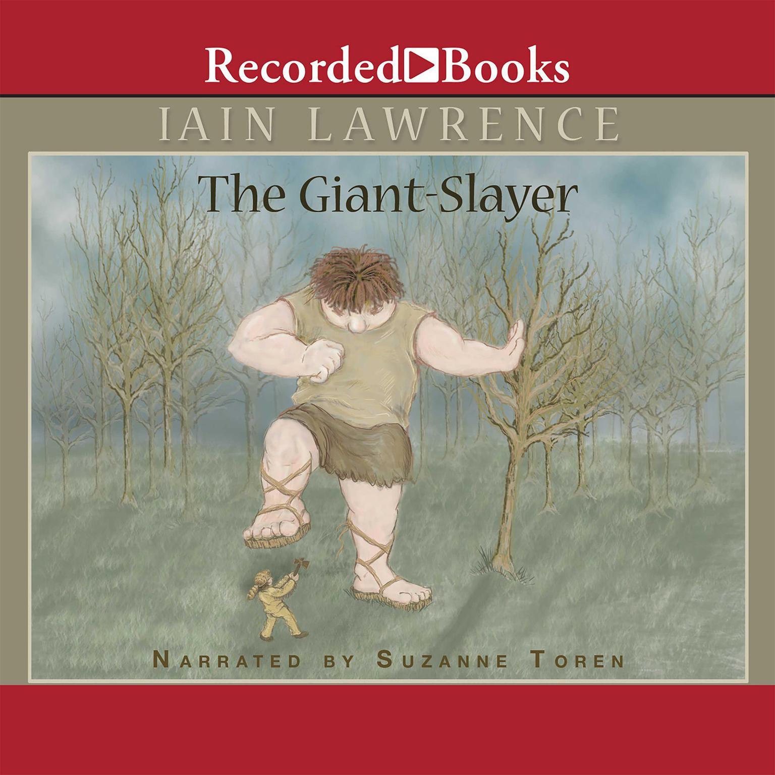 Printable The Giant-Slayer Audiobook Cover Art