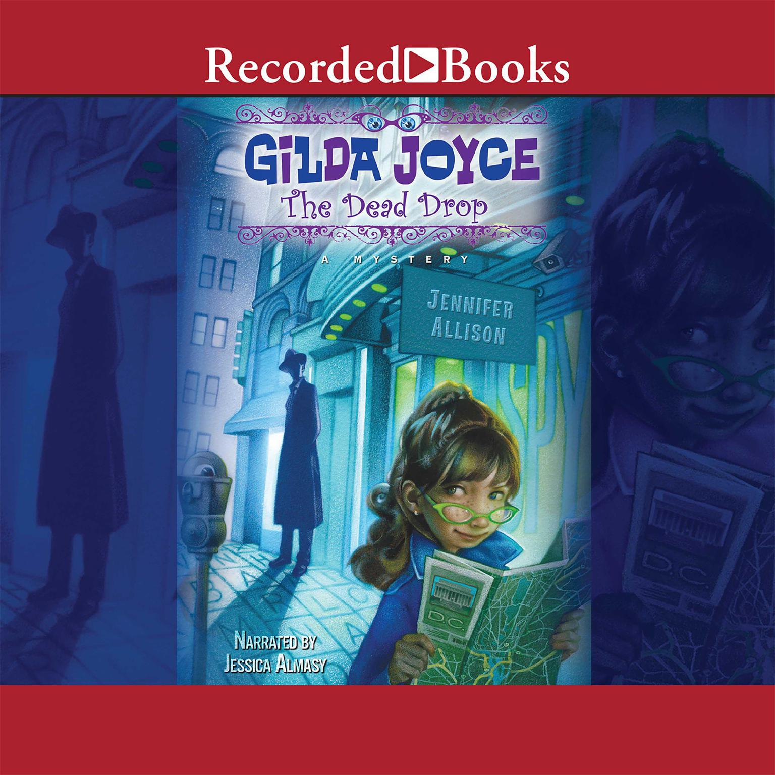 Printable Gilda Joyce: The Dead Drop Audiobook Cover Art
