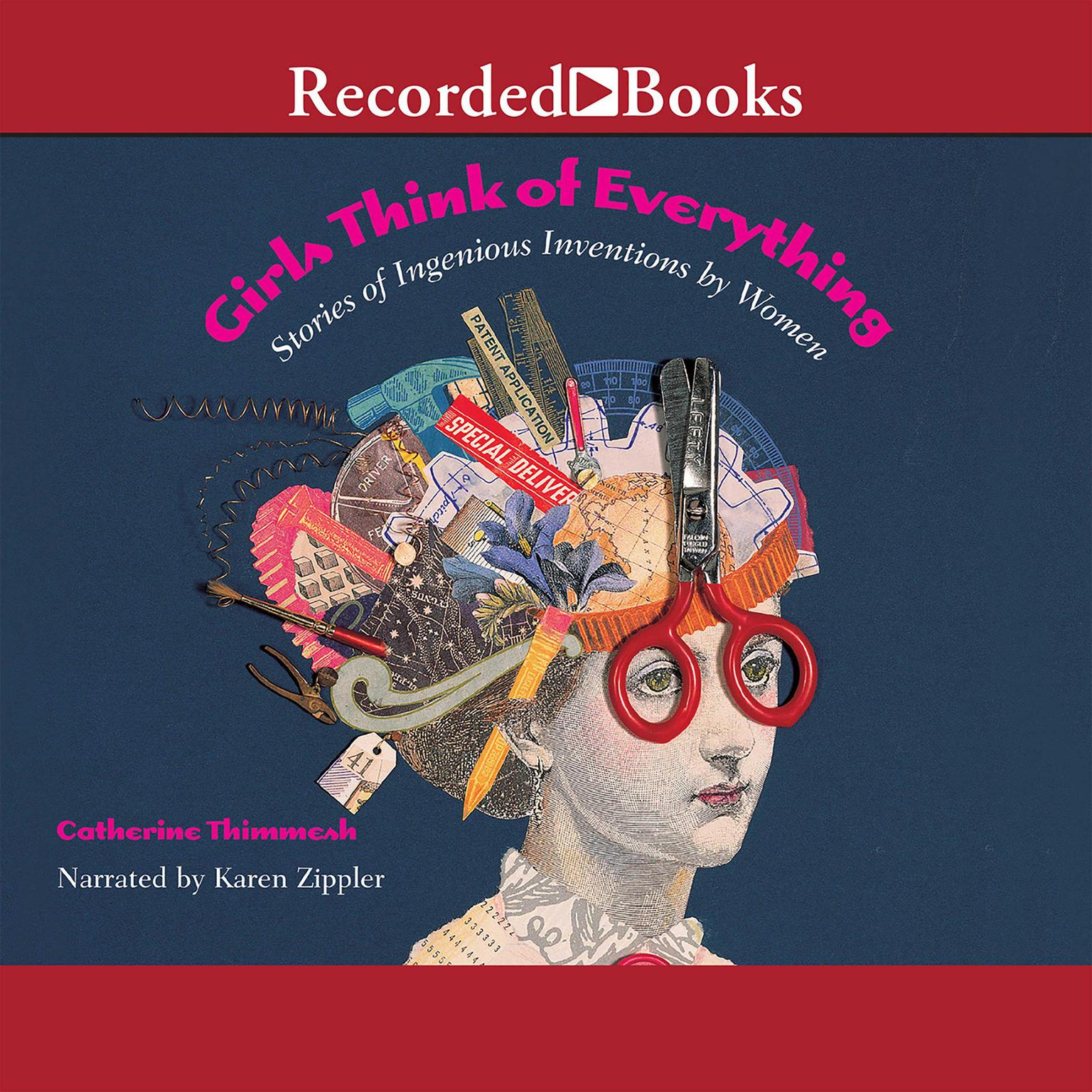 Printable Girls Think of Everything: Stories of Ingenious Inventions by Women Audiobook Cover Art