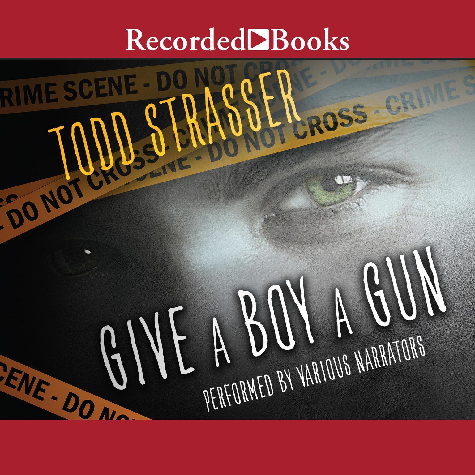 Printable Give a Boy a Gun Audiobook Cover Art