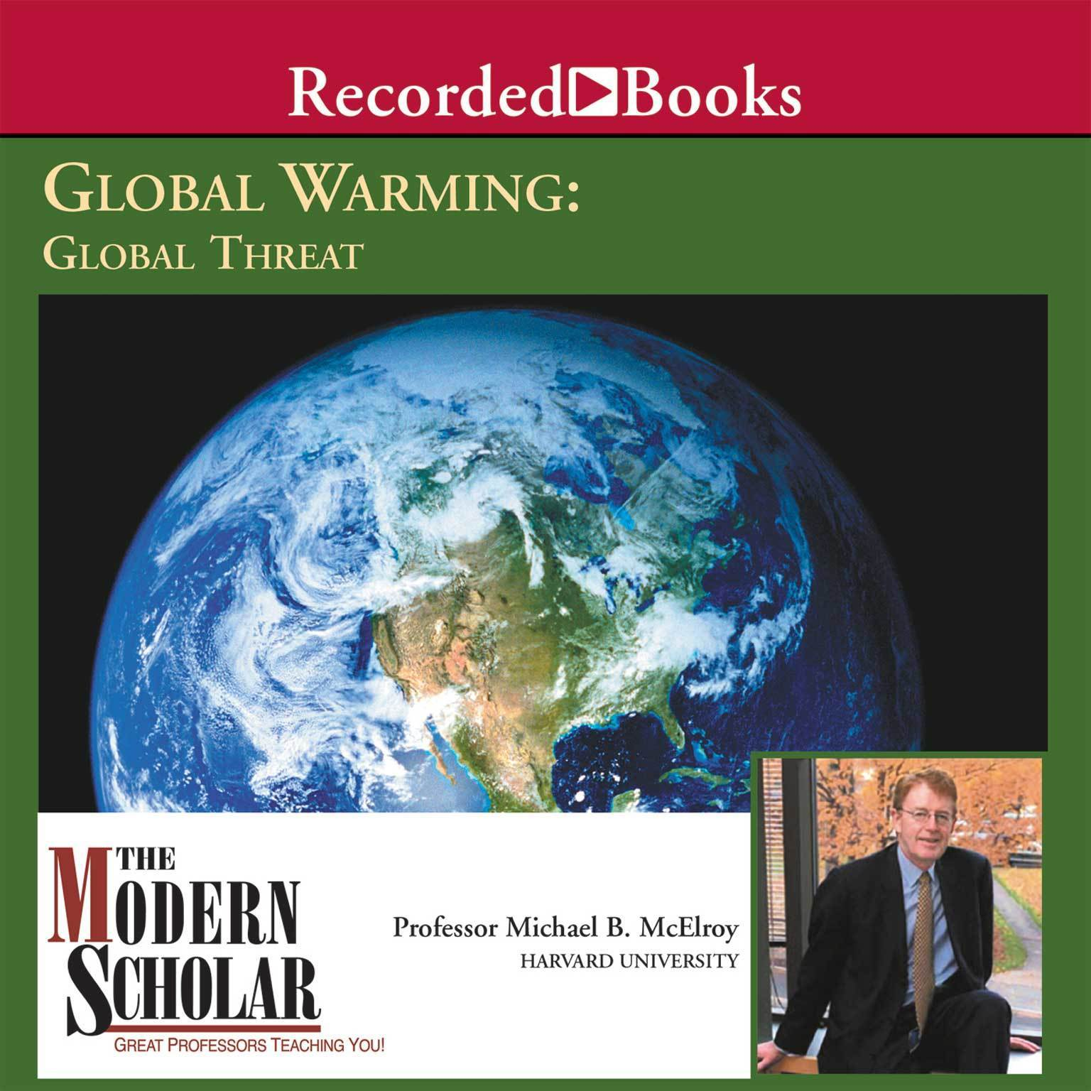 Printable Global Warming: Global Threat Audiobook Cover Art