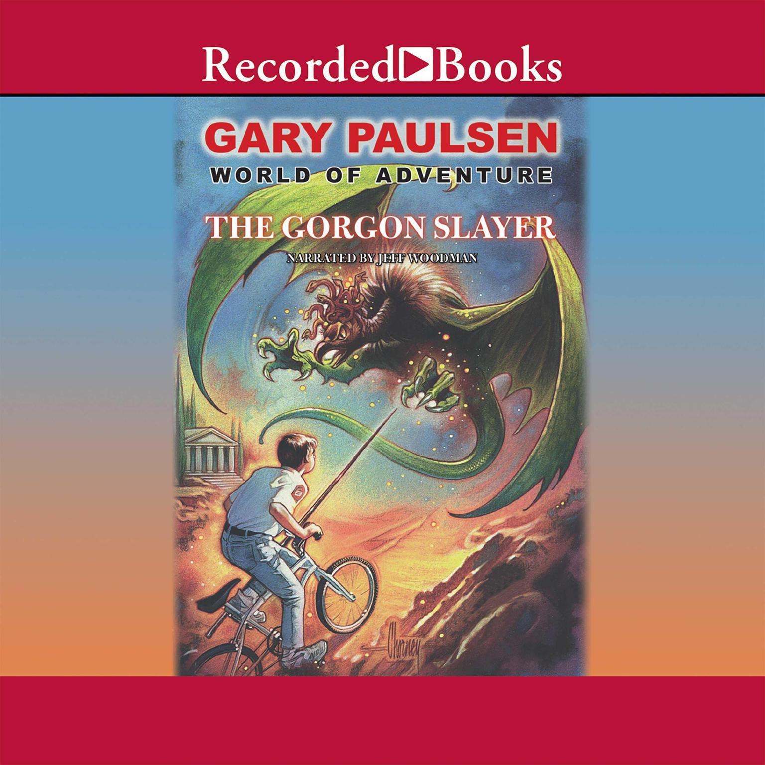 Printable The Gorgon Slayer Audiobook Cover Art