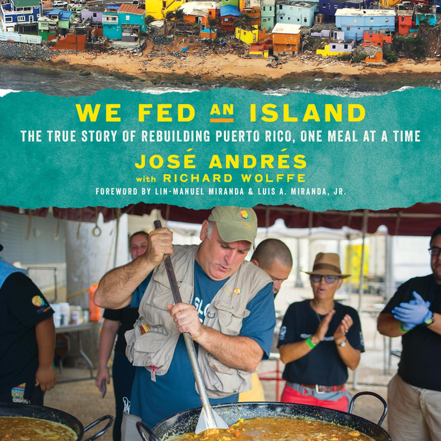 Printable We Fed an Island: The True Story of Rebuilding Puerto Rico, One Meal at a Time Audiobook Cover Art