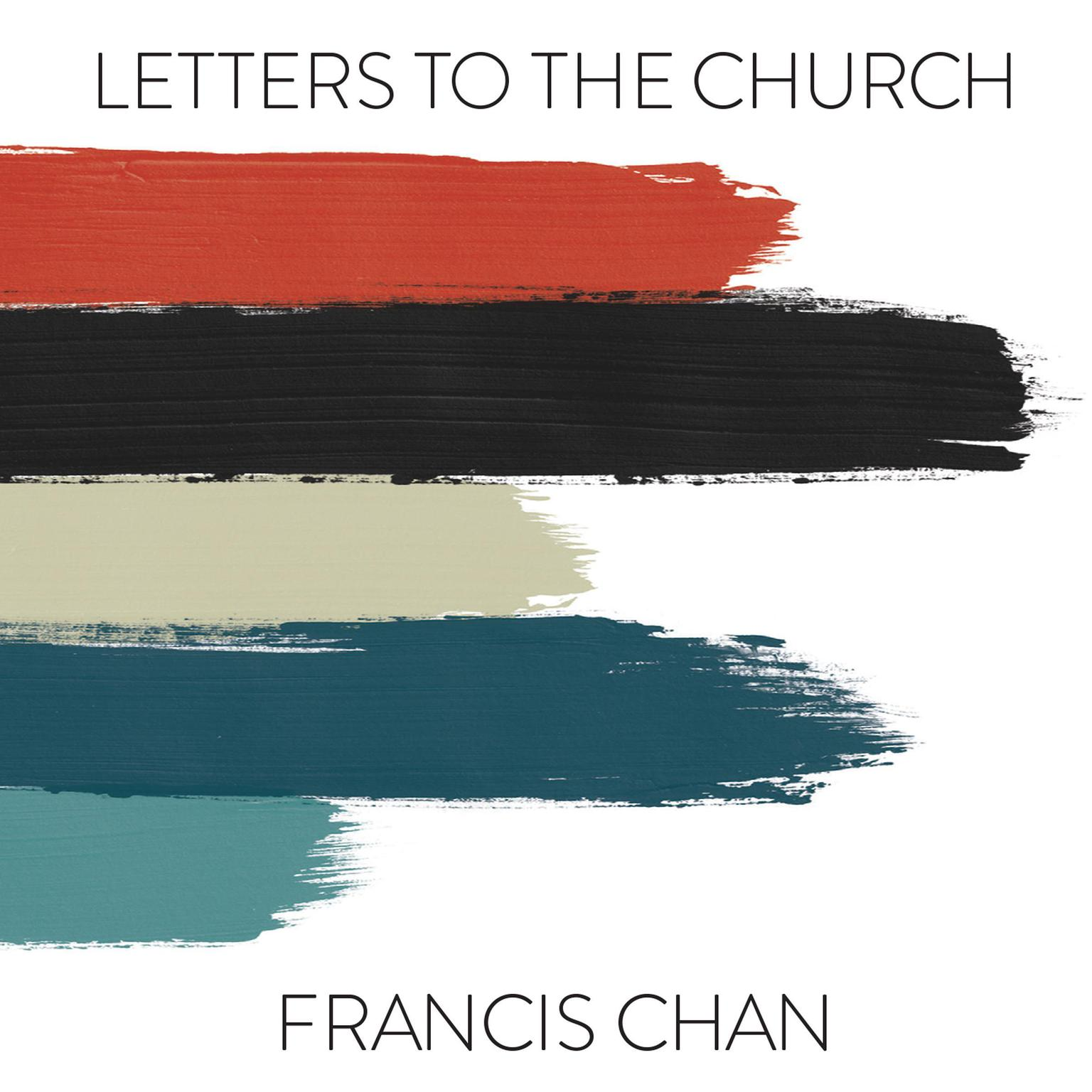 Printable Letters to the Church Audiobook Cover Art