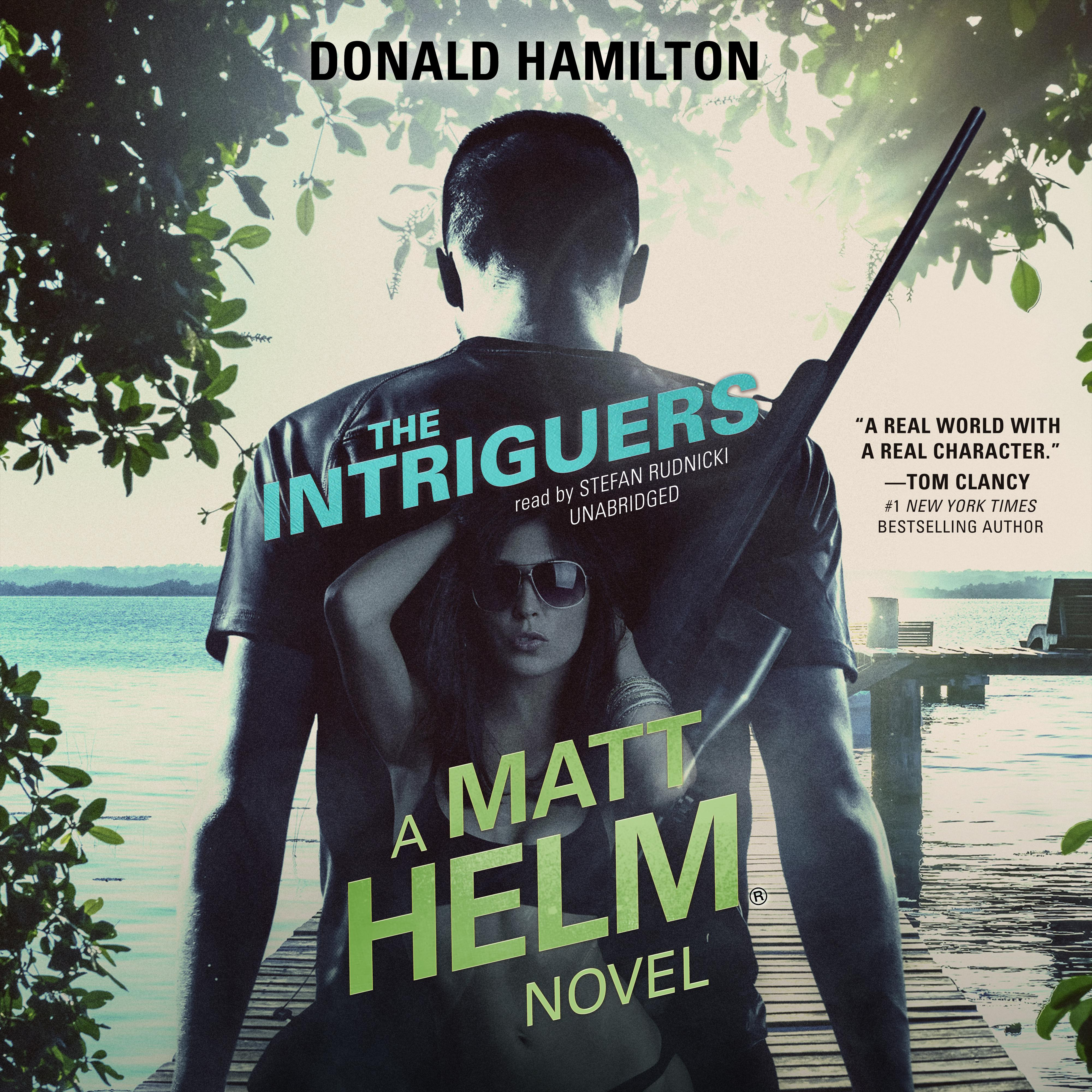 Printable The Intriguers Audiobook Cover Art
