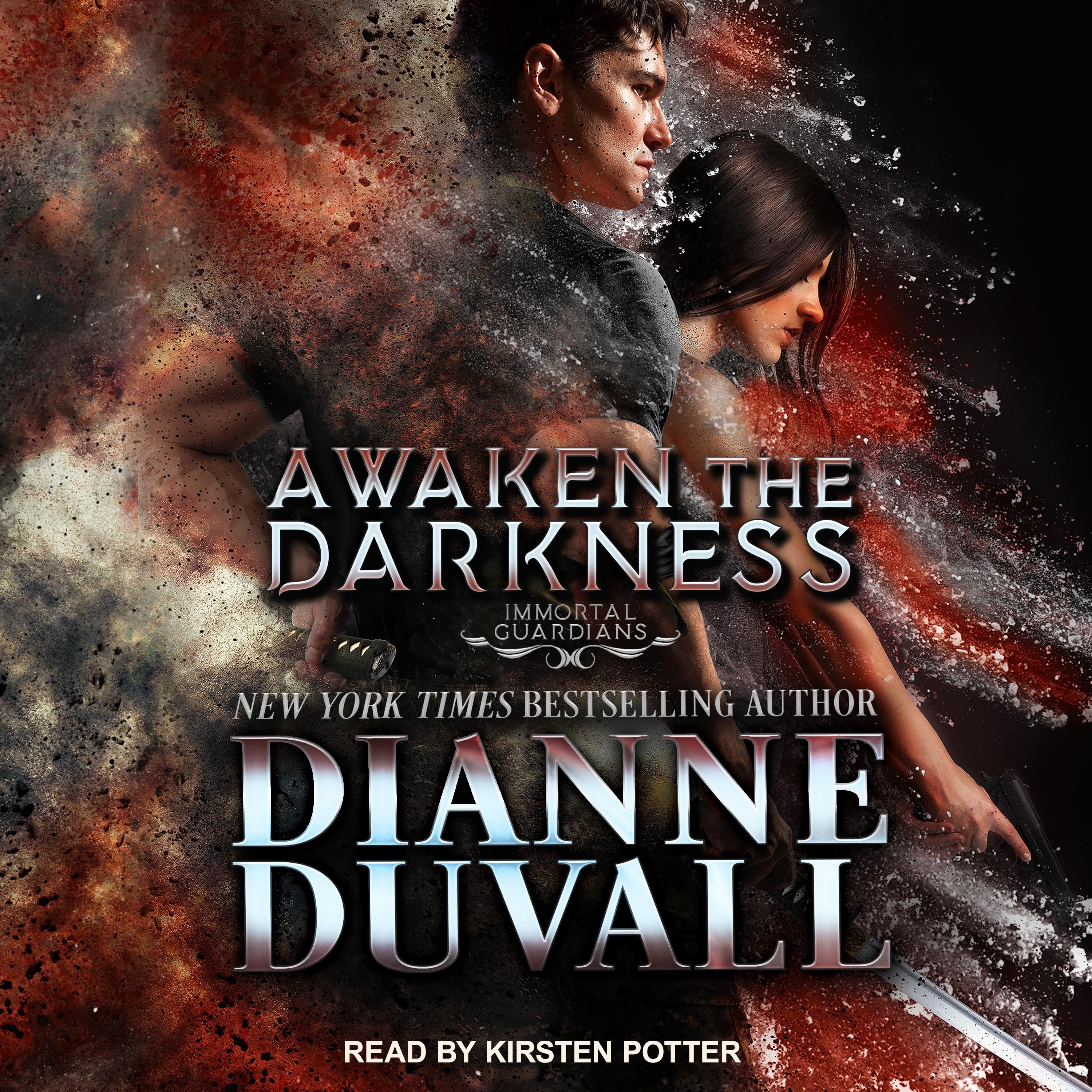 Printable Awaken the Darkness Audiobook Cover Art