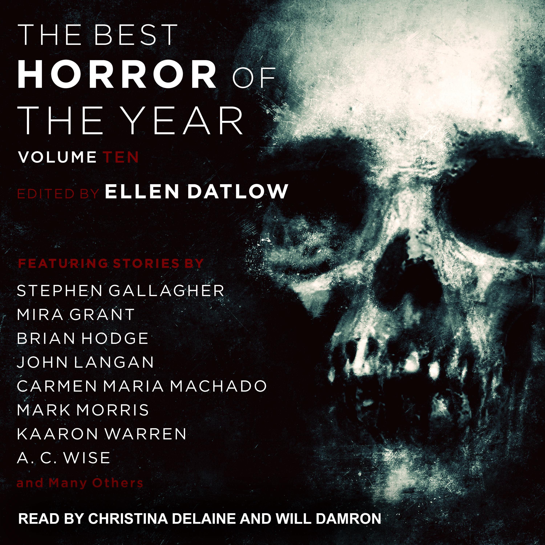 Printable Best Horror of the Year Volume 10 Audiobook Cover Art