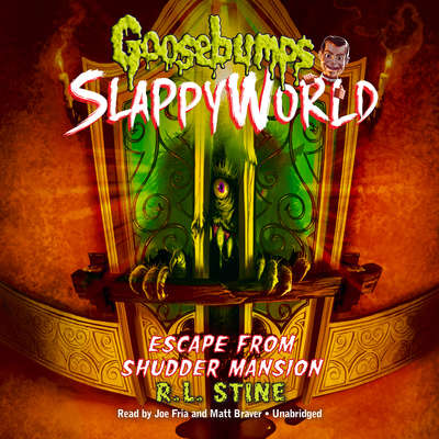 Escape from Shudder Mansion Audiobook, by R. L. Stine