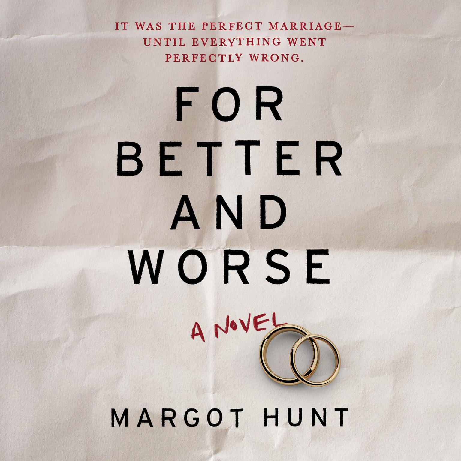 Printable For Better and Worse Audiobook Cover Art