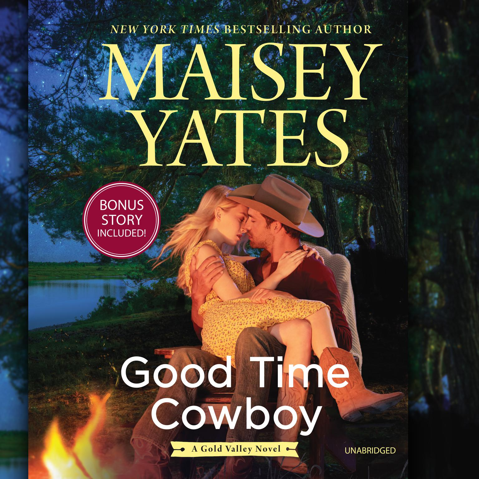 Good Time Cowboy: plus Hard Riding Cowboy A Gold Valley Novel Audiobook, by Maisey Yates