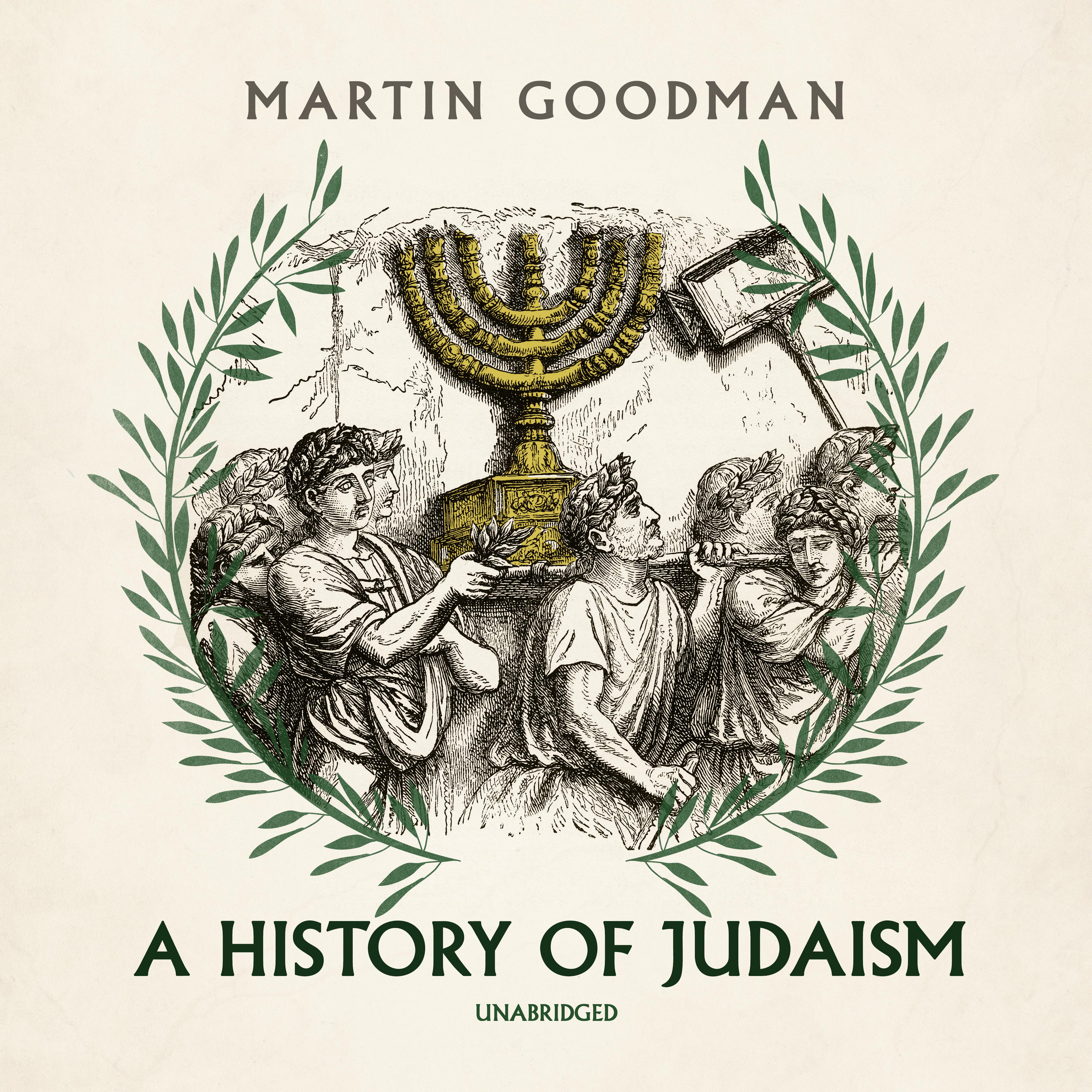 Printable A History of Judaism Audiobook Cover Art