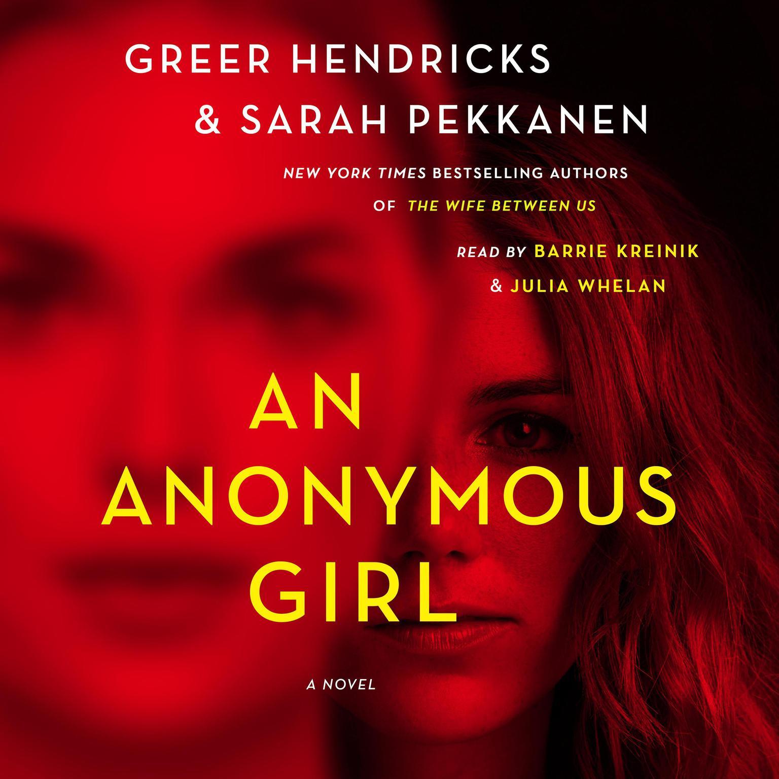 Printable An Anonymous Girl: A Novel Audiobook Cover Art