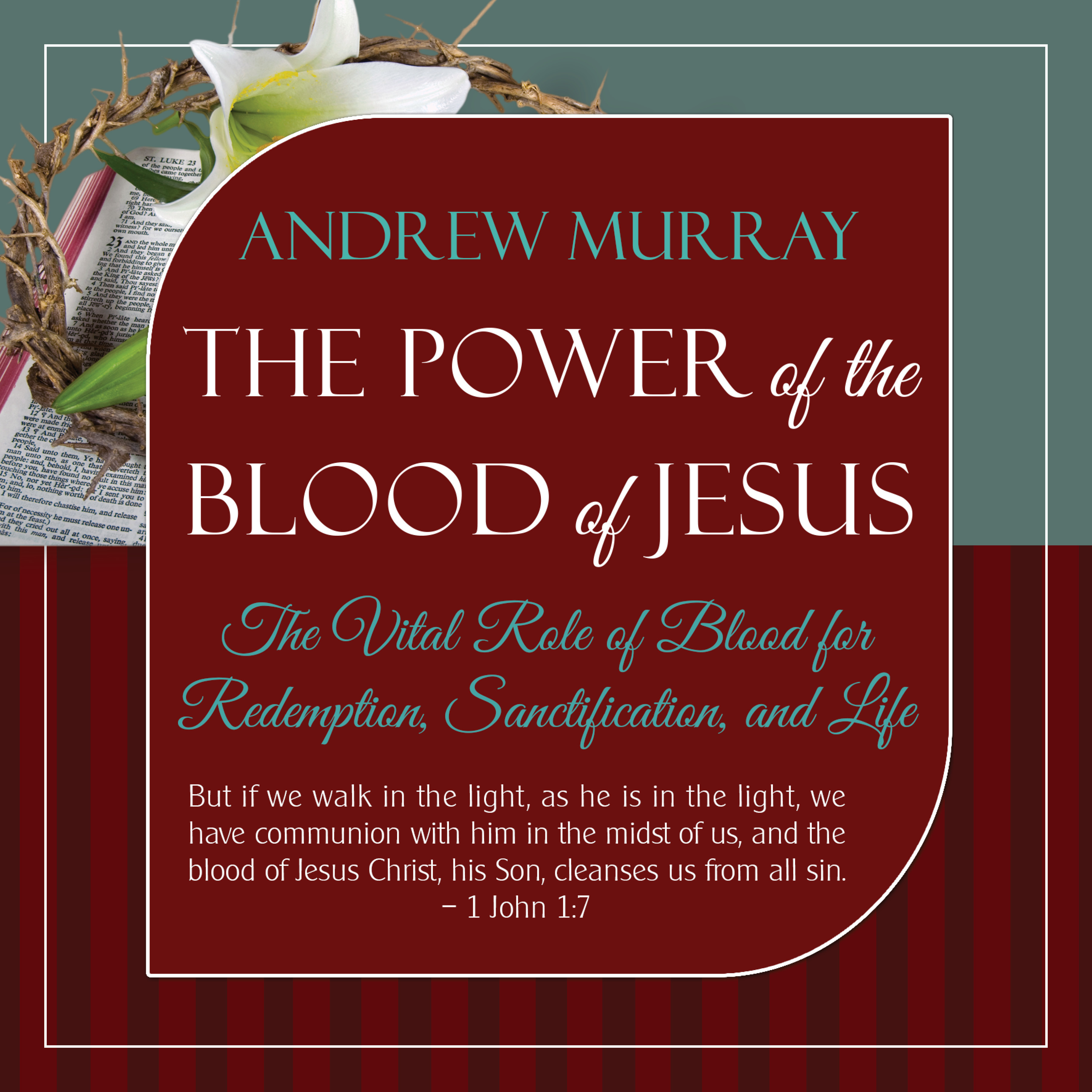 Printable The Power of the Blood of Jesus - Updated Edition Audiobook Cover Art