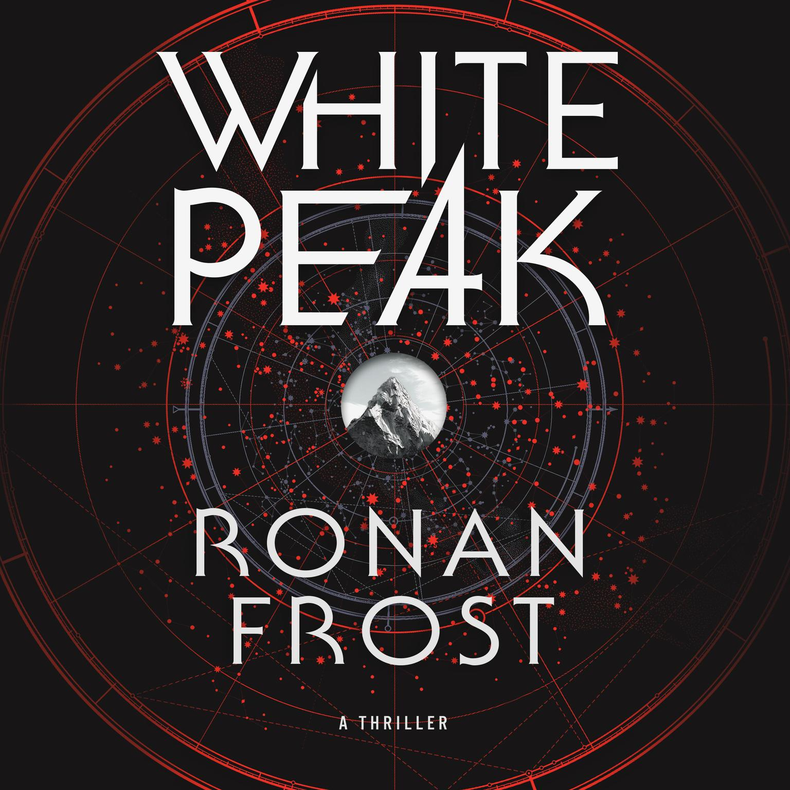 Printable White Peak: A Thriller Audiobook Cover Art