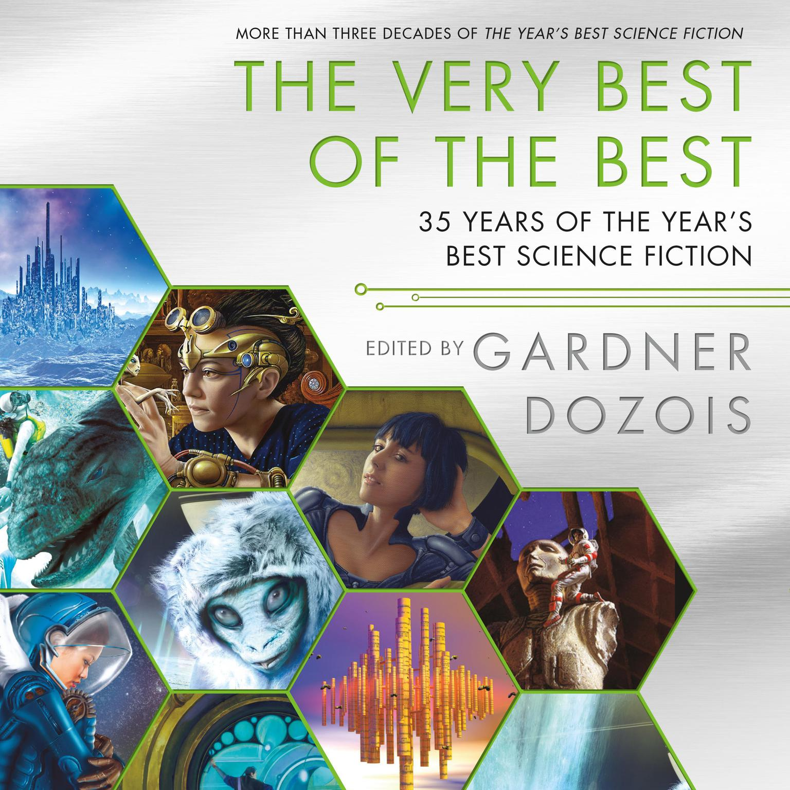 Printable The Very Best of the Best: 35 Years of The Year's Best Science Fiction Audiobook Cover Art