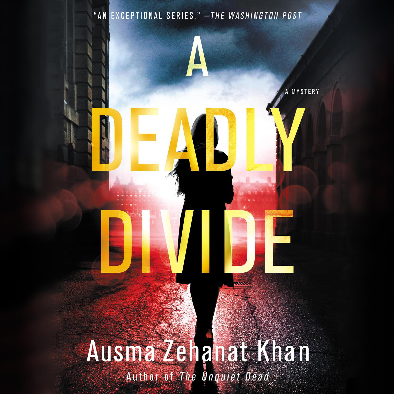 Printable A Deadly Divide: A Mystery Audiobook Cover Art