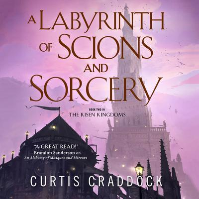 A Labyrinth of Scions and Sorcery: Book Two in the Risen Kingdoms Audiobook, by