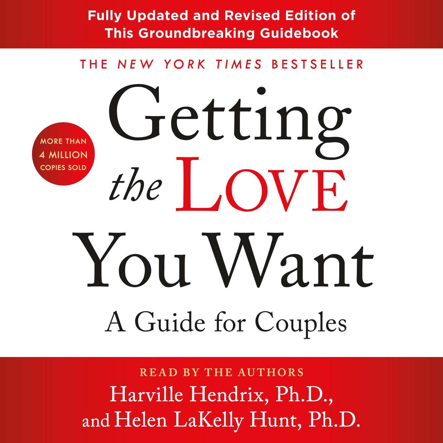 Printable Getting the Love You Want: A Guide for Couples: Third Edition: A Guide for Couples Audiobook Cover Art