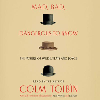 Mad, Bad, Dangerous to Know: The Fathers of Wilde, Yeats and Joyce Audiobook, by Colm Tóibín