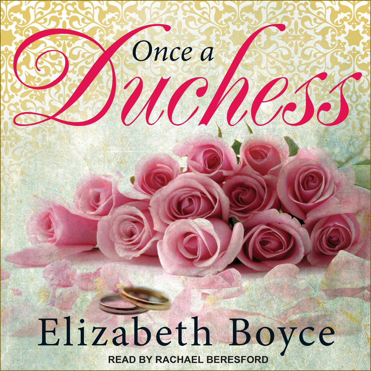 Printable Once a Duchess Audiobook Cover Art