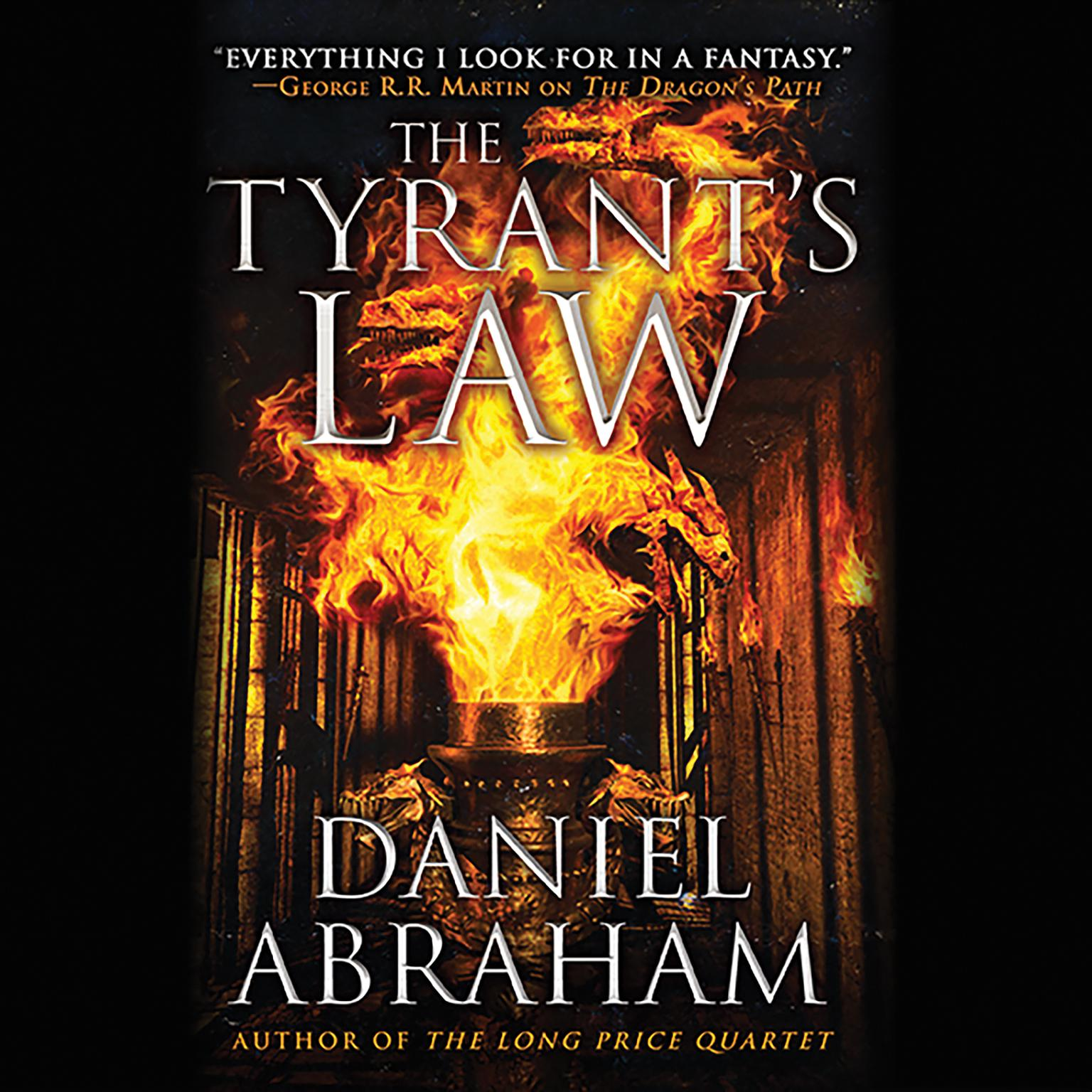 Printable The Tyrant's Law Audiobook Cover Art