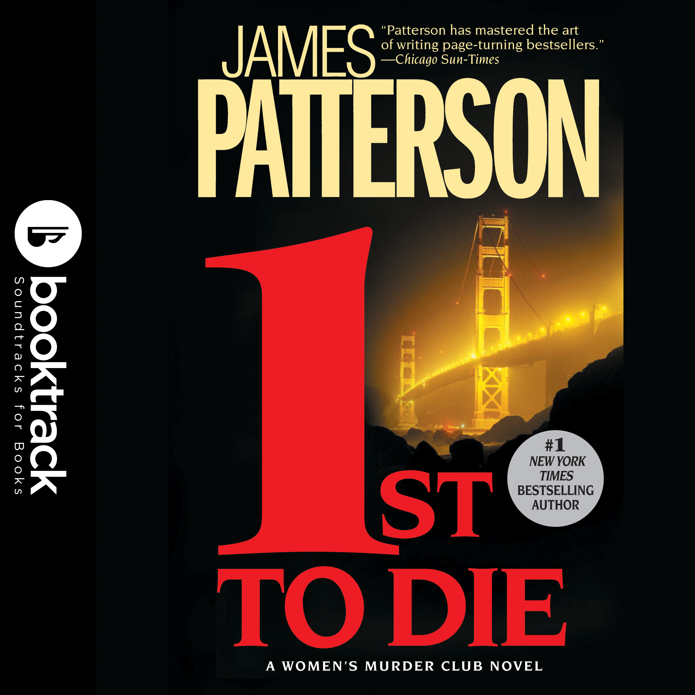 Printable 1st To Die: Booktrack Edition Audiobook Cover Art