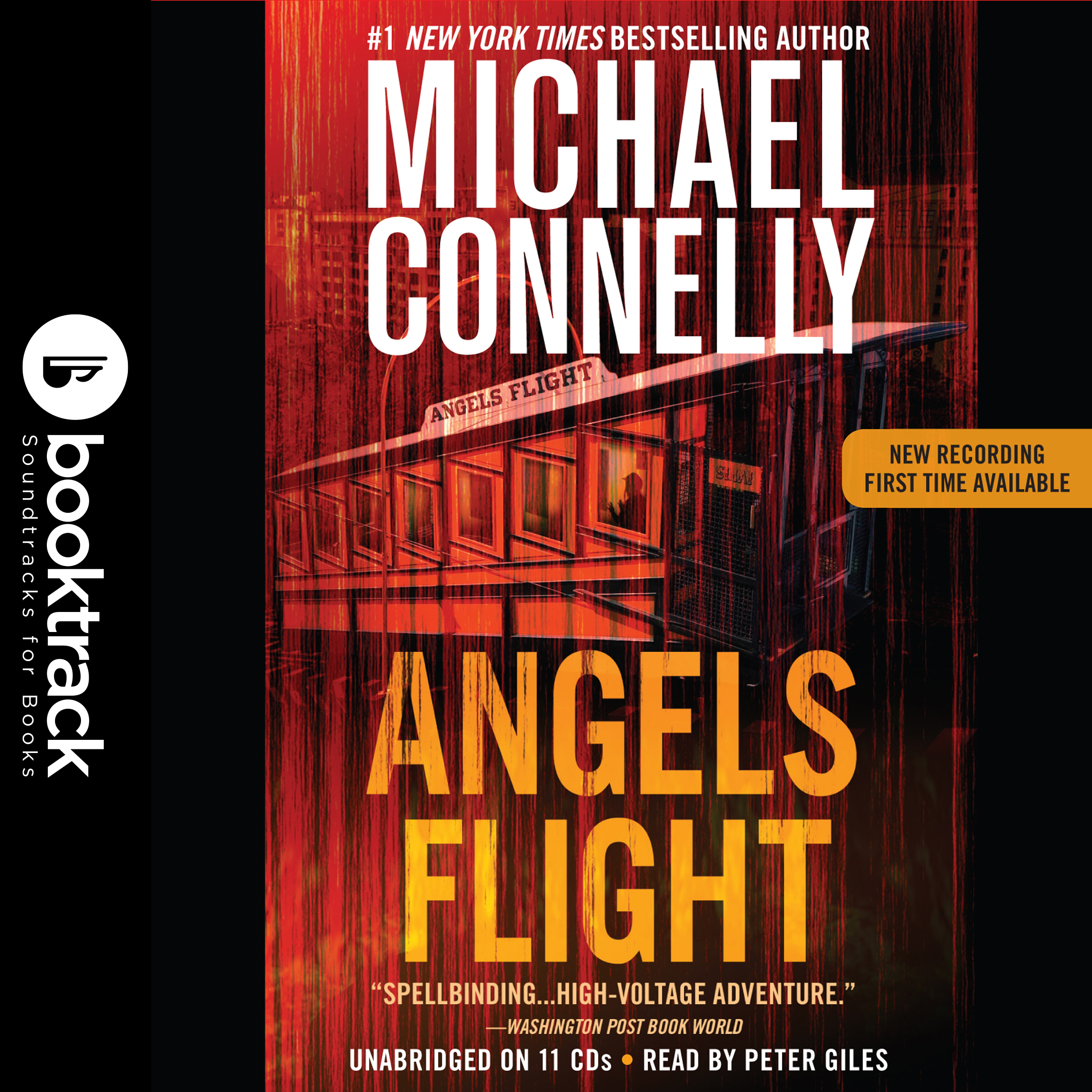 Printable Angels Flight: Booktrack Edition Audiobook Cover Art