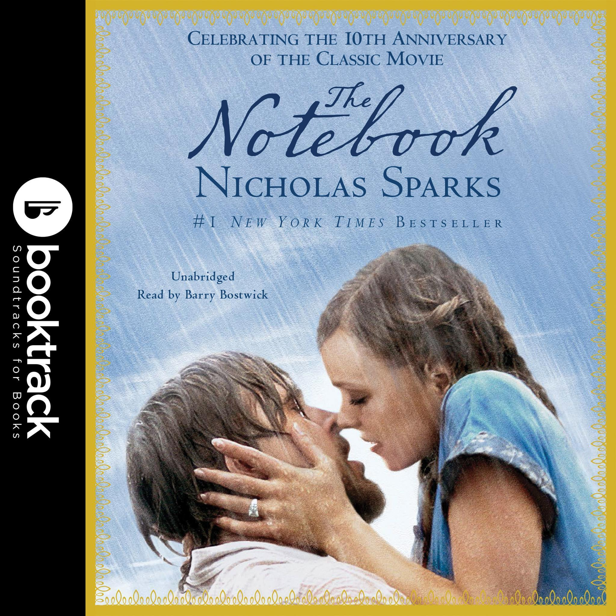Printable The Notebook: Booktrack Edition Audiobook Cover Art