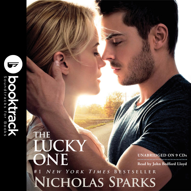 Printable The Lucky One: Booktrack Edition Audiobook Cover Art