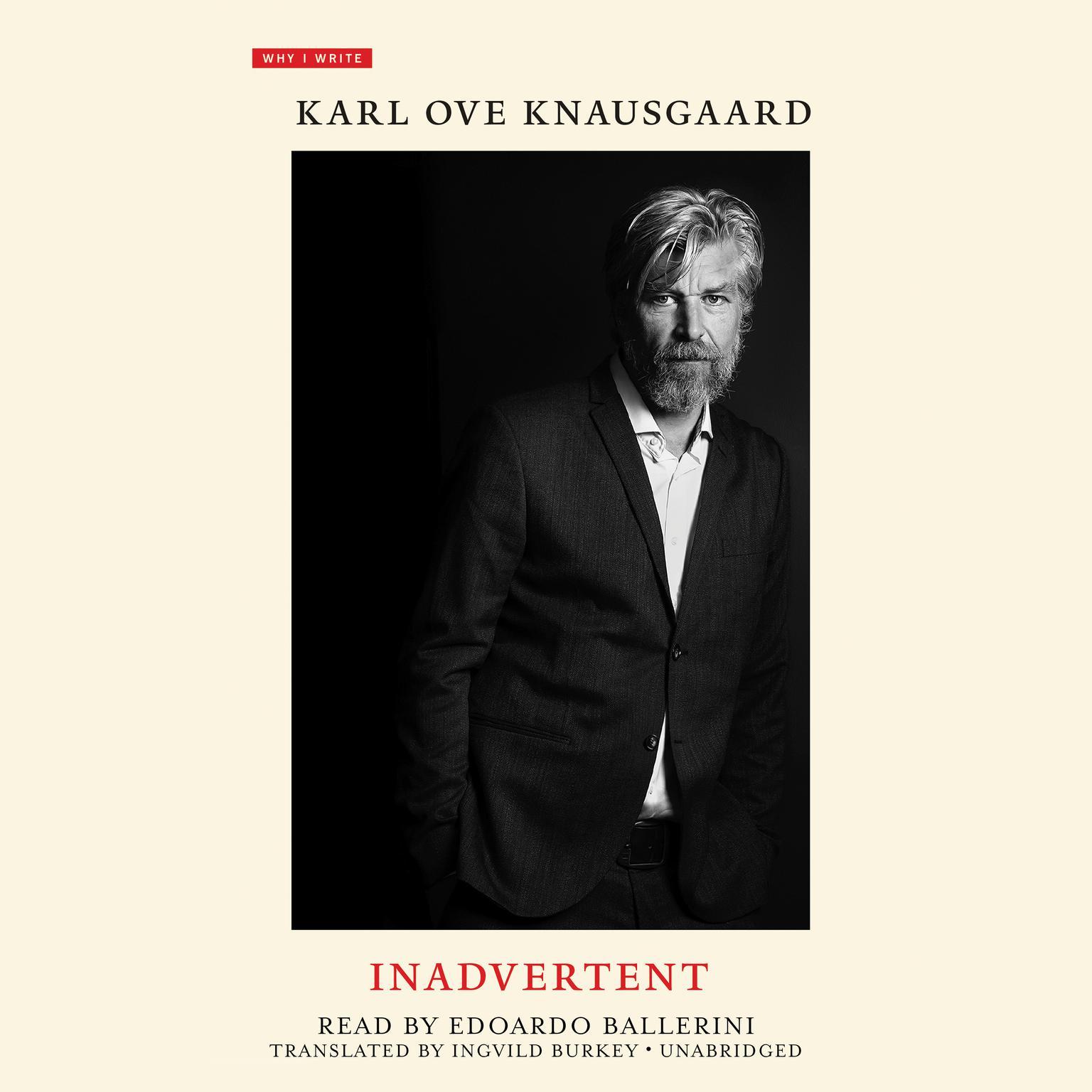 Inadvertent Audiobook, by Karl Ove Knausgaard