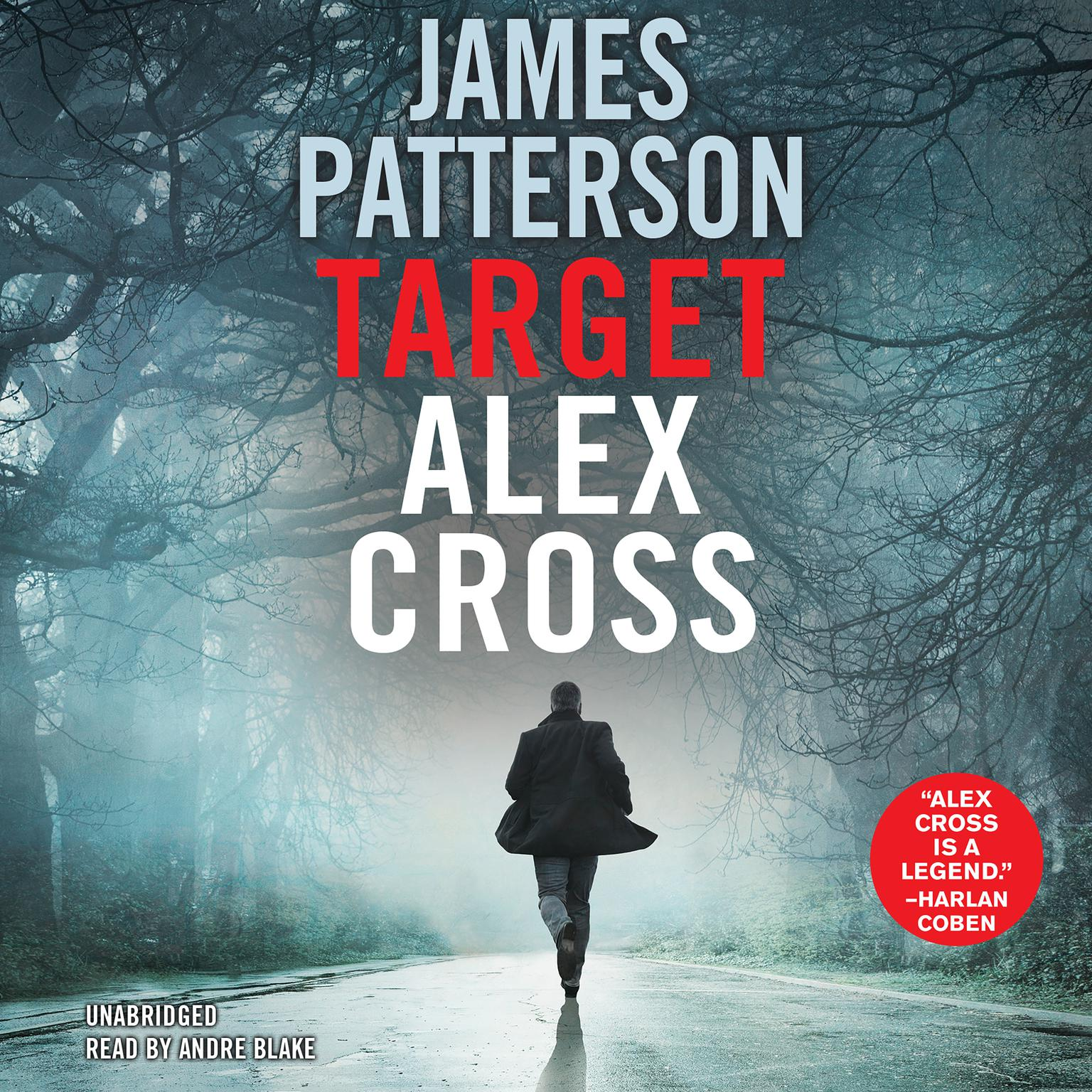 Printable Target: Alex Cross Audiobook Cover Art