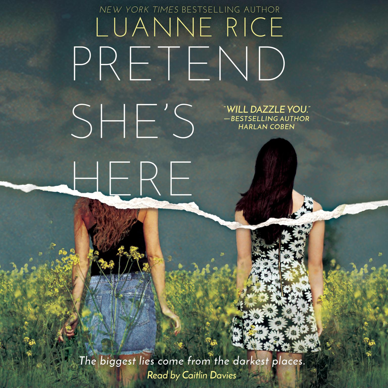 Printable Pretend She's Here Audiobook Cover Art