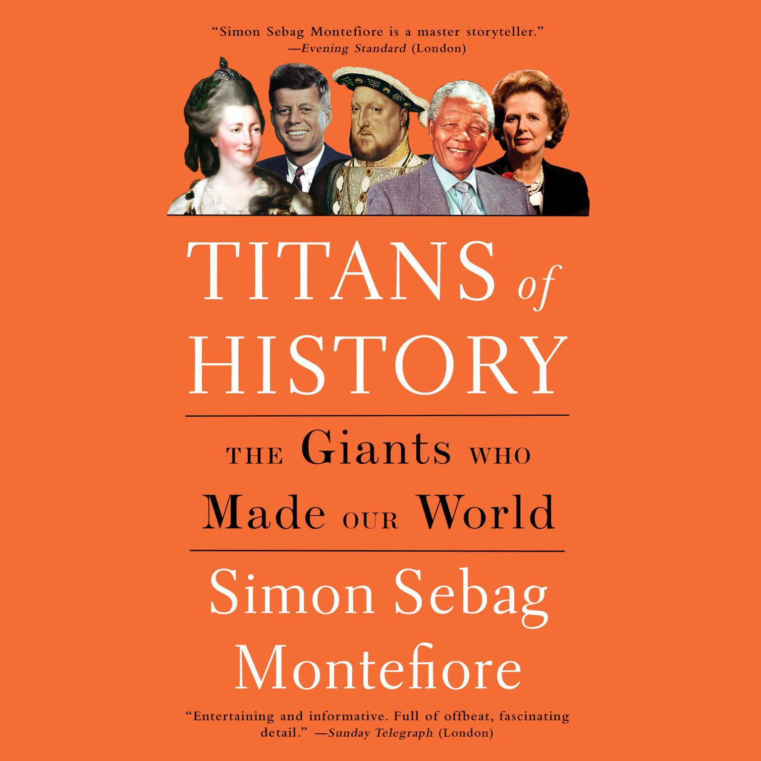 Printable Titans of History: The Giants Who Made Our World Audiobook Cover Art