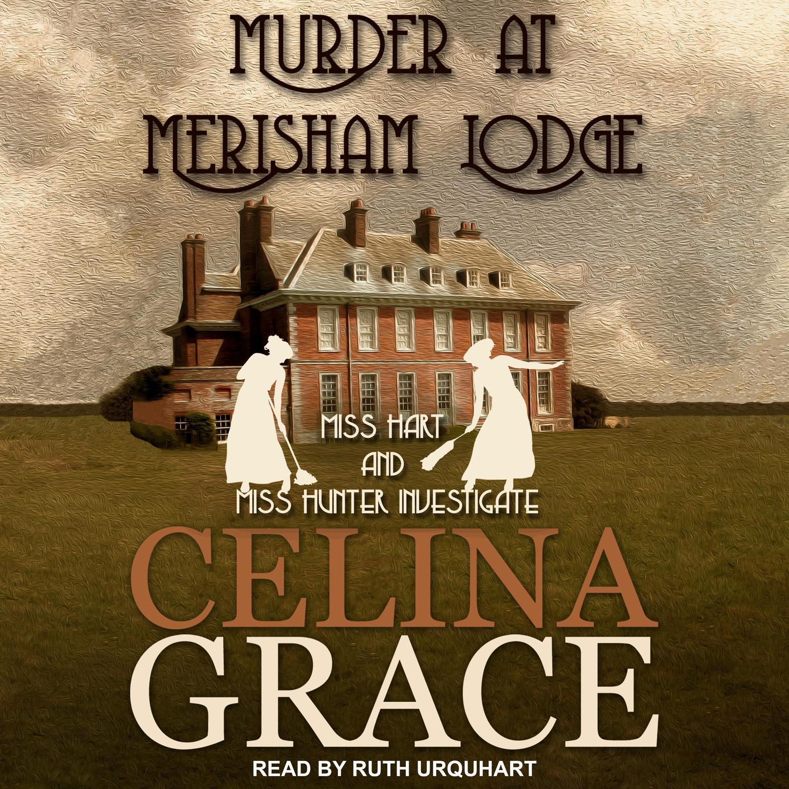 Printable Murder at Merisham Lodge Audiobook Cover Art