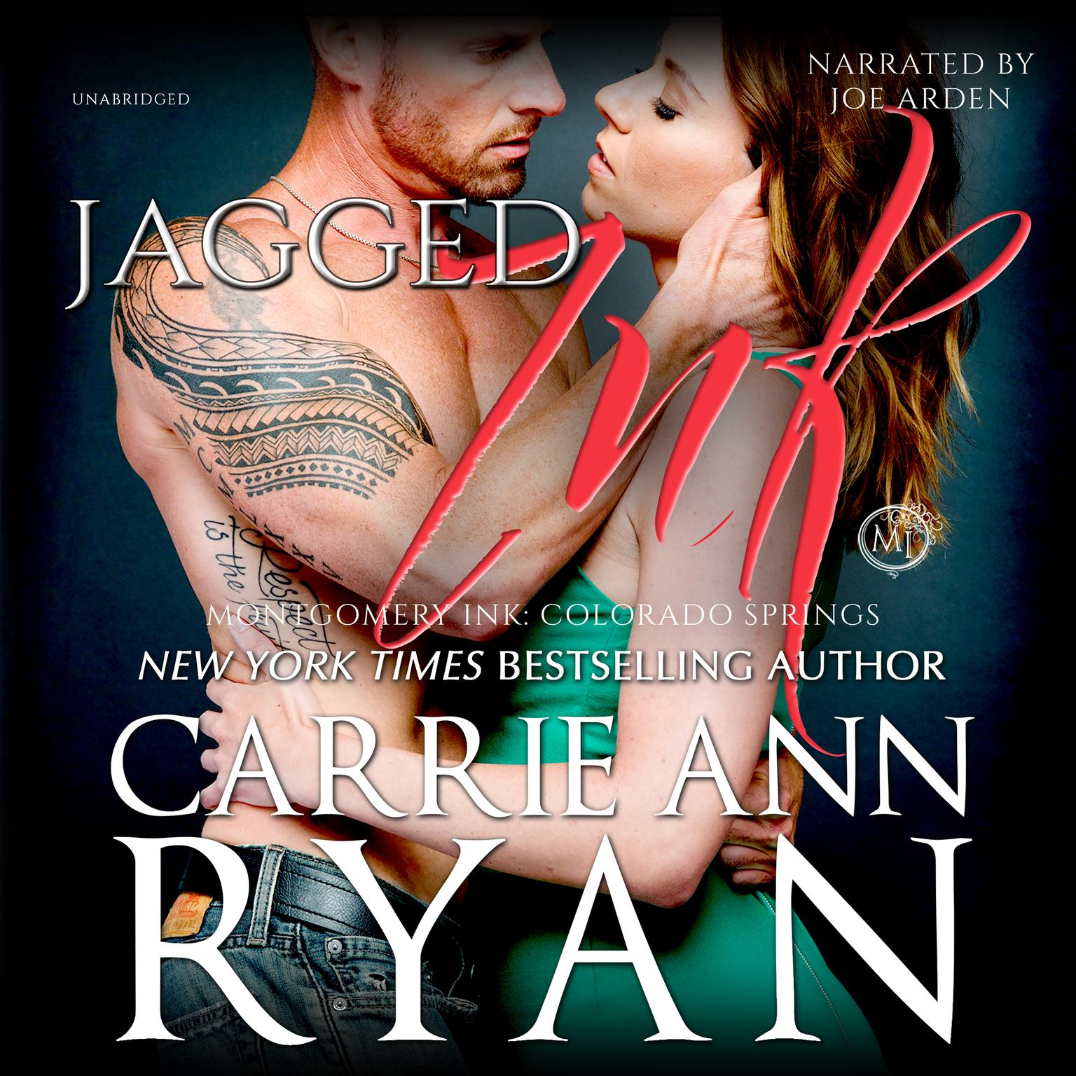 Printable Jagged Ink Audiobook Cover Art