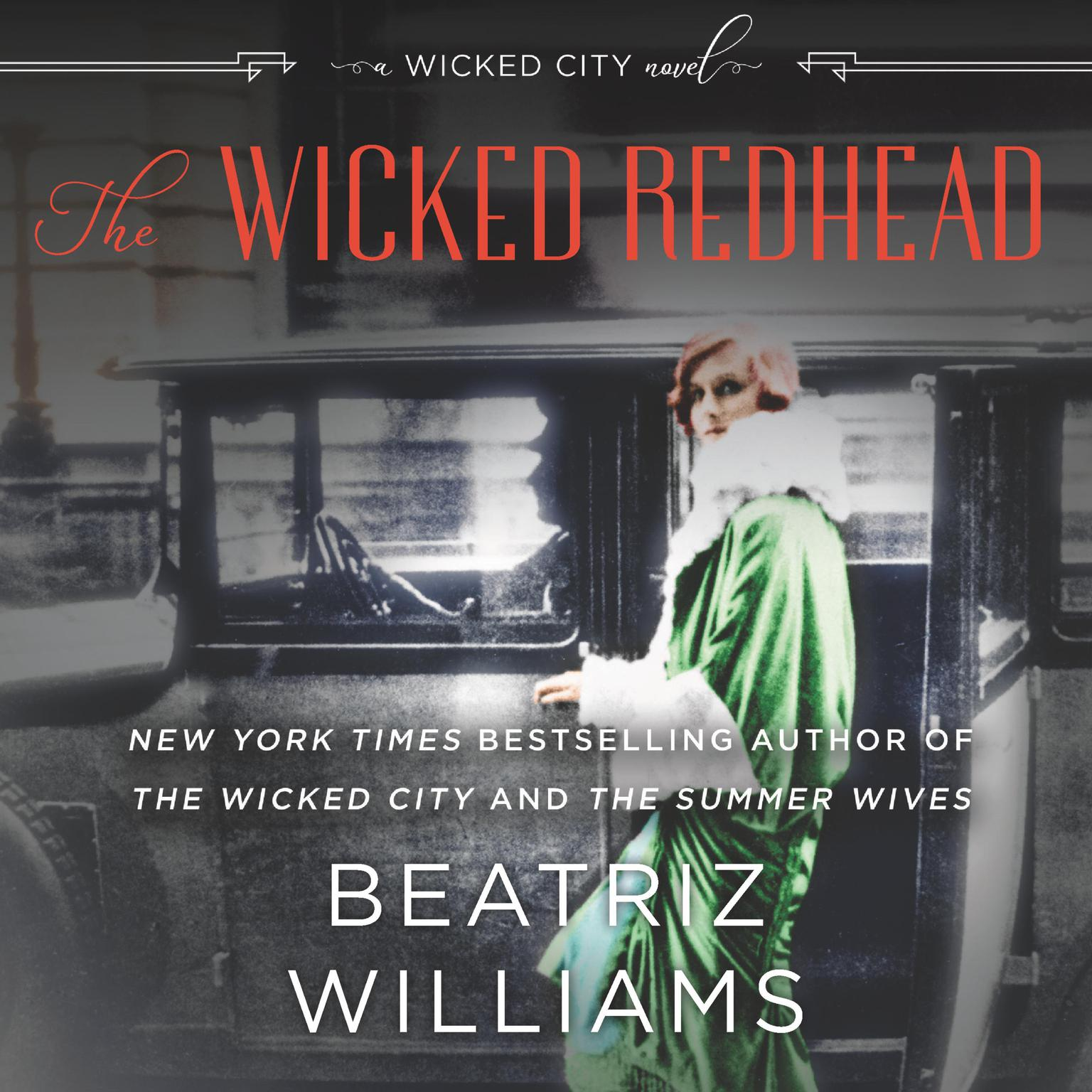 Printable The Wicked Redhead: A Wicked City Novel Audiobook Cover Art